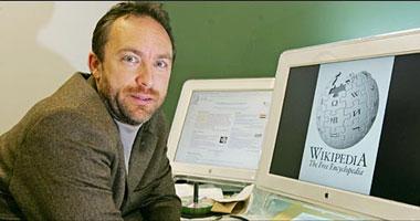 جيمى ويلز مؤسس موقع ويكيبيديا