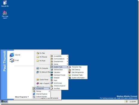 Windows XP build 2257 thumb مرور 10 سنوات على اطلاق ويندوز اكس بي