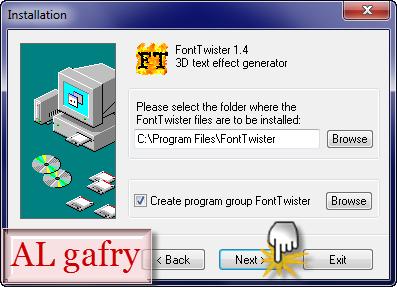 برنامج FontTwister1.0.3 التوقيعات الشعارات المكتوبة 42.png