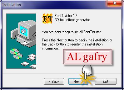 برنامج FontTwister1.0.3 التوقيعات الشعارات المكتوبة 43.png