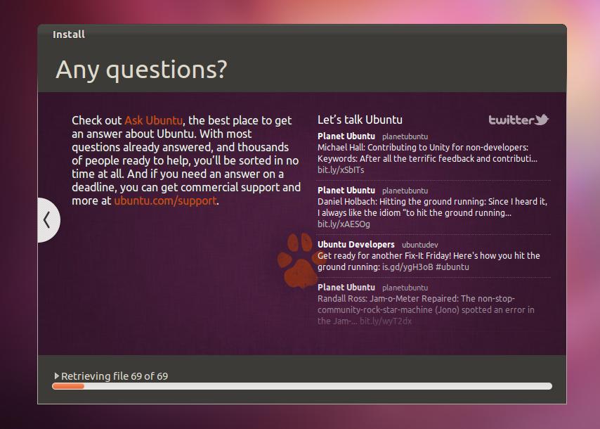 لأبونتو Ubuntu توزيعة 9.png