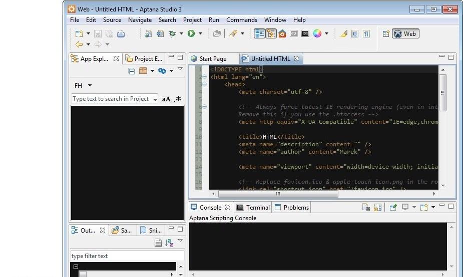 برنامج Aptana Studio برنامج لتصميم 118.jpg