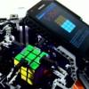 تحطيم الرقم القياسي في انشاء روبوت مبني من الليغو وجالكسي S2