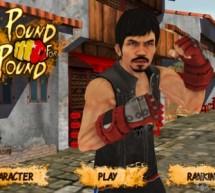 الاعلان عن لعبة المغامرات المثيرة Manny Pacquiao Pound for Pound