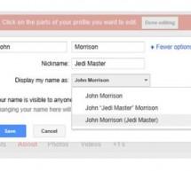 """""""جوجل بلس"""" يسمح لمشتركيه باستخدام أسماء مستعارة"""