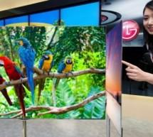 أول صور لشاشة «LG» الجديدة بتكنولوجيا «OLED» وبدقة «HDTV» بمساحة 55 بوصة