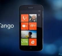 بكفائة عالية سيعمل ويندوز فون تانقو ( Tango ) على الأجهزة الضعيفة