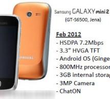 سامسونج تطرح هاتف Galaxy mini 2 S6500 اخر هواتف الفئة المتوسطة ..