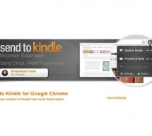 أمازون تطلق تطبيق أرسل إلى كيندل لمتصفح جوجل كروم