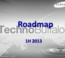 خريطة إطلاق Samsung لبعض أجهزتها في عام 2013
