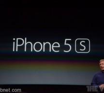 رسمياً أبل تكشف عن IPHONE 5S