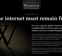 ويكيبيديا : حرية الإنترنت في خطر
