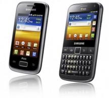 سامسونج تصدر هاتفين من فئة Galaxy Y يدعم نظام الشريحتين