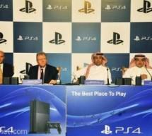 سوني تعلن عن إطلاق بلاي ستيشن 4 في السعودية يوم 14 ديسمبر 2013